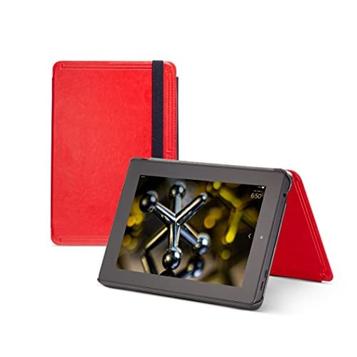 Image 0 of Marblue Slimtech Case For Fire HD 7 Only Fits 4th Generation Fire HD 7 Red Cover