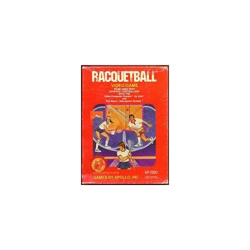 2600 Game Cartridge Racquetball For Atari Vintage