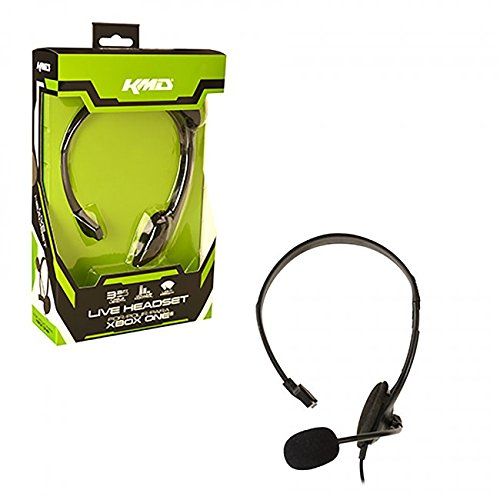 Image 0 of Xbox One Headset Live Black KMD For Xbox One Microphone Mic