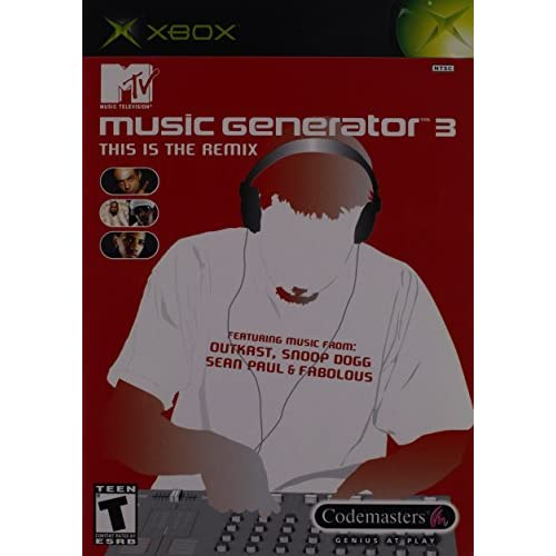 Image 0 of MTV Music Generator 3: This Is The Remix For Xbox Original Arcade