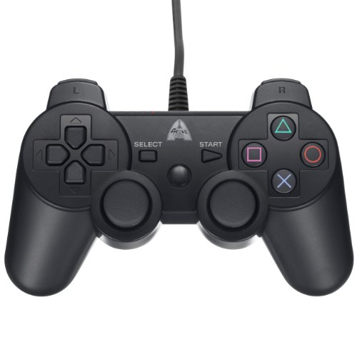 Arsenal Gaming AP3CON3 Wired Controller Black For PlayStation 3 PS3