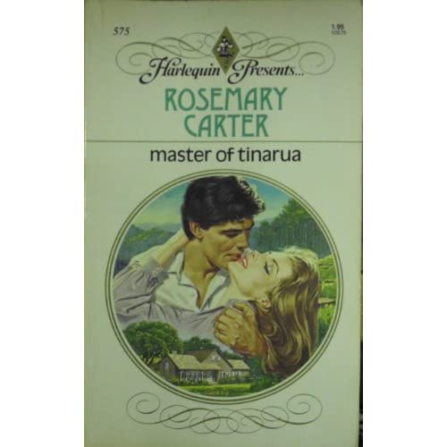 Master Of Tinarua By Rosemary Carter Book Paperback