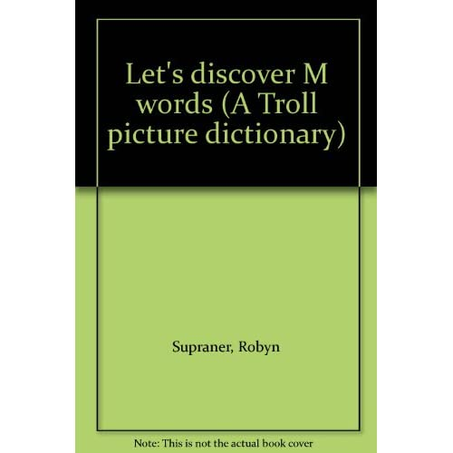 Image 0 of Let's Discover M Words A Troll Picture Dictionary On Audio Cassette