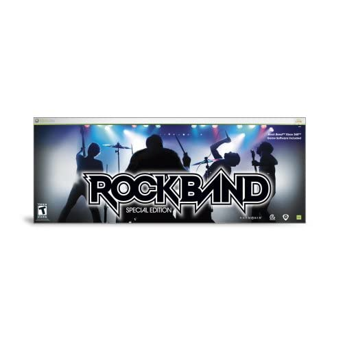 Rock Band Special Edition For Xbox 360