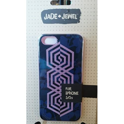 Image 0 of Jade And Jewel Purple iPhone 5 5S SE Case Cover Fitted CO8192