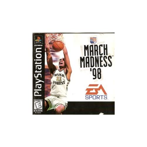 NCAA March Madness 98 For PlayStation 1 PS1 Basketball