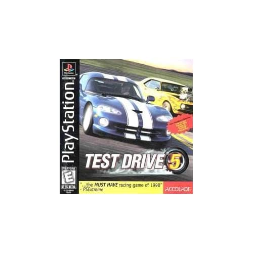 test drive 5 for playstation 1 ps1 racing