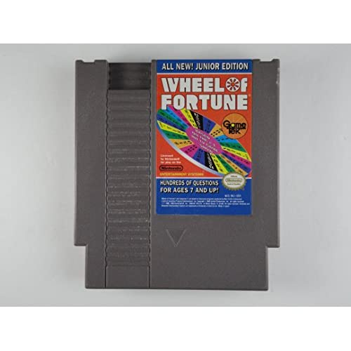 Image 0 of Wheel Of Fortune: Junior Edition For Nintendo NES Vintage