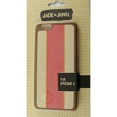 Jade And For iPhone 6 Brown And Pink Faux Leather