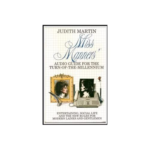 Image 0 of Miss Manner's: Audio Guide For The Turn Of The Millennium By Judith Martin On Au