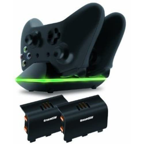 Dreamgear Dual Charging Dock Charge Up To Two Controllers Simultaneously For Xbo
