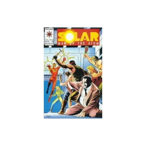 Solar Man Of The Atom #26 Volume 1 Comic Book