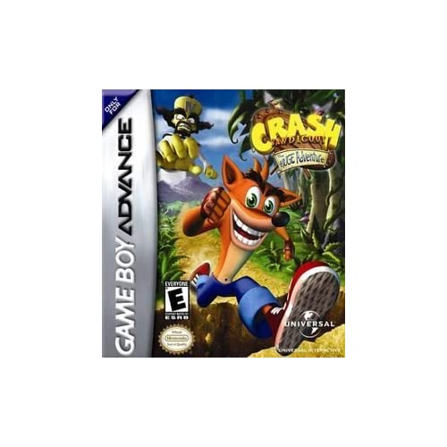 Crash Bandicoot: The Huge Adventure For GBA Gameboy Advance