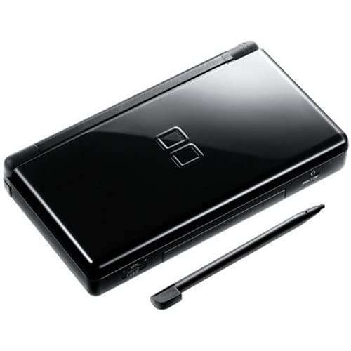 nintendo ds lite onyx black video game systems console. Black Bedroom Furniture Sets. Home Design Ideas
