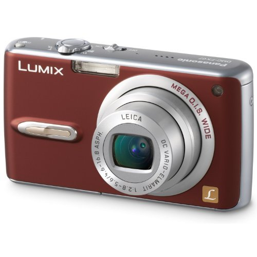 Panasonic DMC-FX07R 7.2MP Digital Camera With 3.6X Optical Image Stabilized Zoom