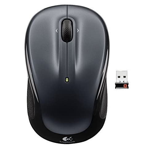 Image 0 of Dark Silver Logitech Wireless Mouse M325 With Designed-For-Web Scrolling