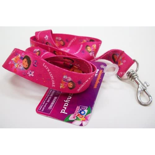 Dora The Explorer Lanyard 18 X .75 Inch Key Leash