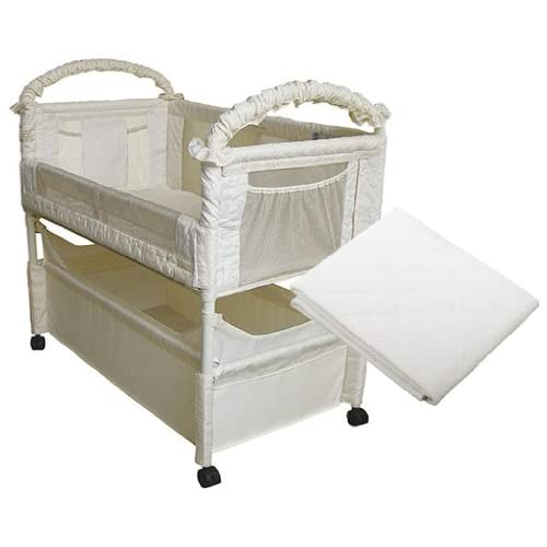 Arm 39 S Reach Clear Vue Co Sleeper With Mattress Protector