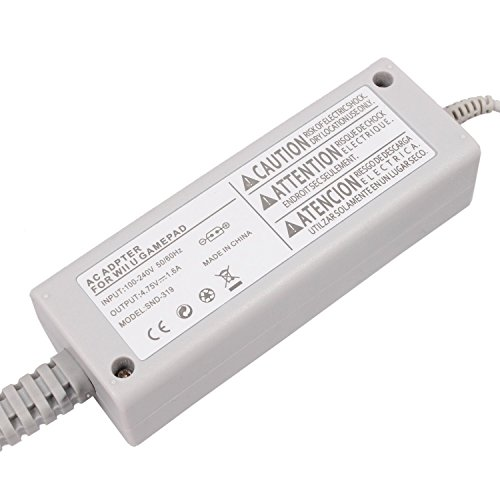 Image 3 of Generic Wall Power AC Charger Adapter For Nintendo Wii U Gamepad