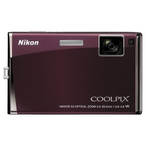 Nikon Coolpix S60 10MP Digital Camera With 5X Optical Vibration Reduction VR Zoo