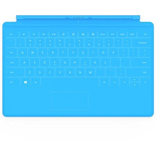 Microsoft Surface Touch Cover Keyboard Cyan Case 1515