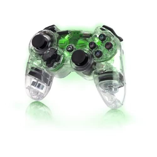 Image 0 of PDP PS3 Afterglow Wireless Controller Green For PlayStation 3