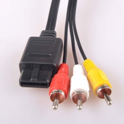 6FT AV Cable For Nintendo GameCube SNES GC N64 Cord