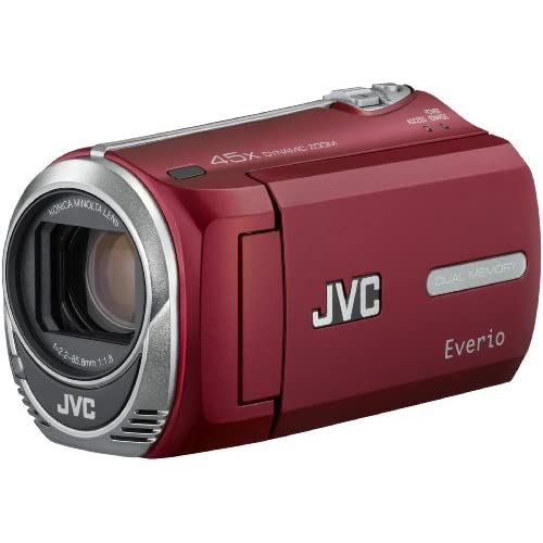 JVC GZ-MS230 Camcorder Red Camera