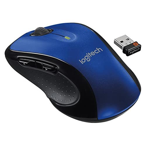 Image 0 of Logitech M510 Wireless Large Mouse Blue With Unifying Receiver