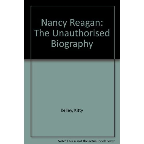Image 0 of Nancy Reagan The Unauthorized Biography By Kitty Kelley On Audio Cassette