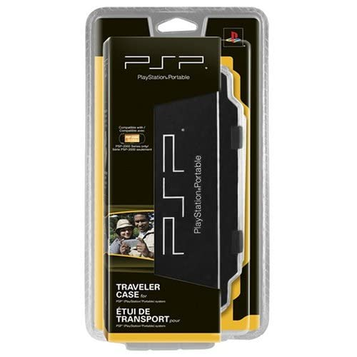 Image 0 of Traveler Case For PSP UMD Black SIO064