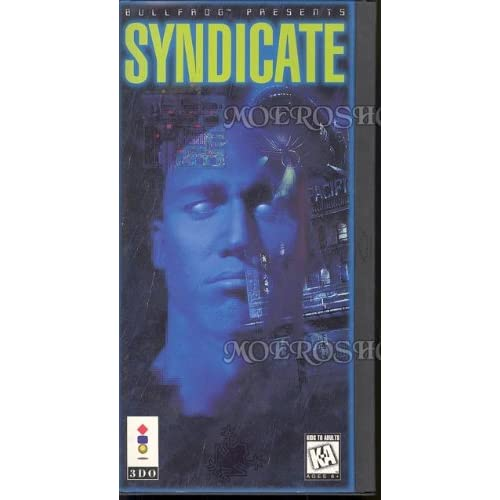 Syndicate Game For 3DO Vintage