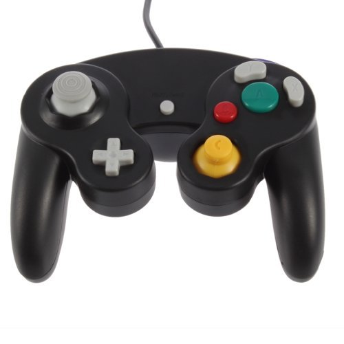 Image 2 of Black GameCube Controller Remote For Nintendo Wii GameCube And Wii