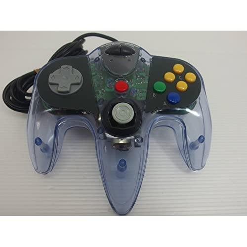 Image 0 of Sharkpad Pro 64 Controller Clear/purple For N64 Nintendo