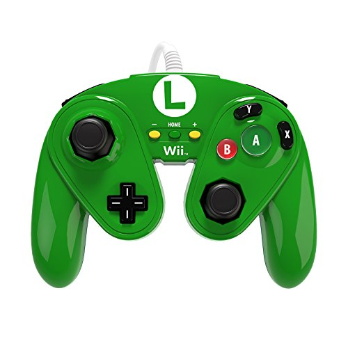 Image 0 of PDP Wired Fight Pad For Wii U Luigi