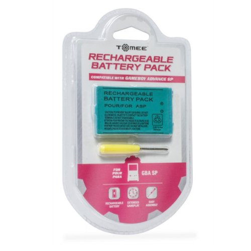 Image 0 of Tomee GBA SP Rechargeable Battery Pack