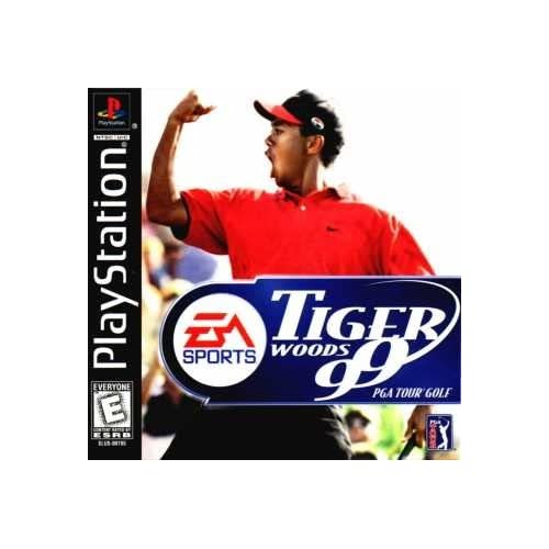 Tiger Woods '99 PGA Tour For PlayStation 1 PS1 Golf