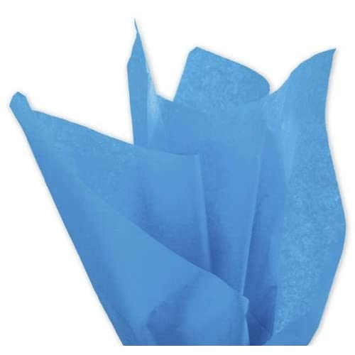 Bags & Bows By Deluxe 11-01-72 Solid Tissue Paper Fiesta Blue Case Of