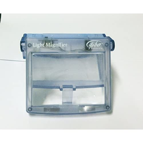 Image 0 of Light Magnifier For Nintendo Game Boy Advance Glacier Clear Blue For GBA Gameboy