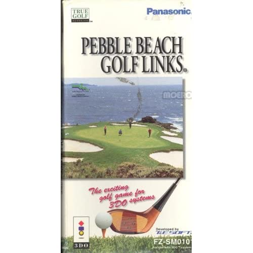 Pebble Beach Golf Links For 3DO Vintage With Manual and Case