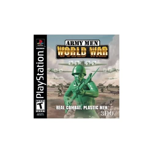 Army Men World War For PlayStation 1 PS1 With Manual and Case