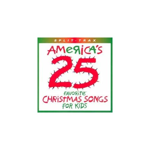 Image 0 of America's 25 Favorite Christmas Songs For Kids / Split Trax By Brentwood Kids [C