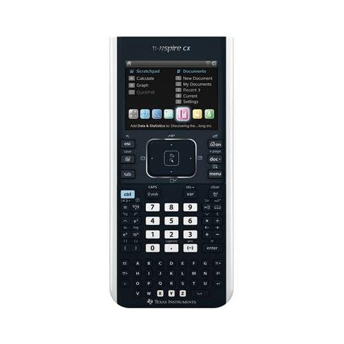 Texas Instrument Tinspirecx Ti-Nspire Cx Handheld Graphing Calculator With Full-