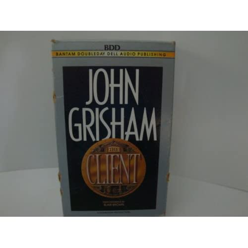 Image 0 of John Grisham The Client Audio Cassettes On Audio Cassette