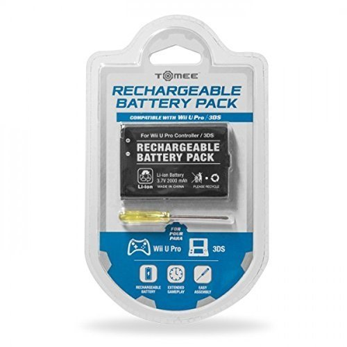 Image 0 of Tomee 3DS Rechargeable Battery Pack Wii U Pro Controller
