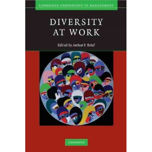 Diversity At Work (Cambridge Companions To Management)