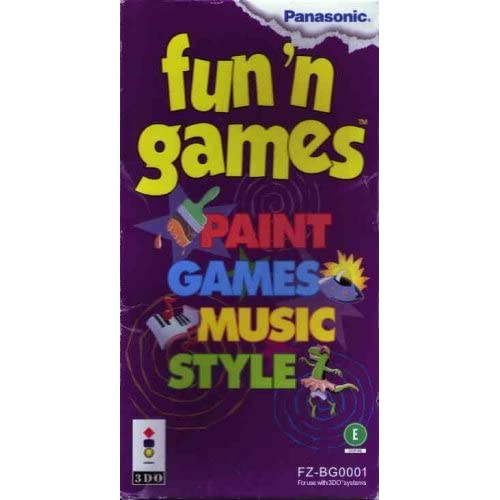 Fun N Games For 3DO Vintage
