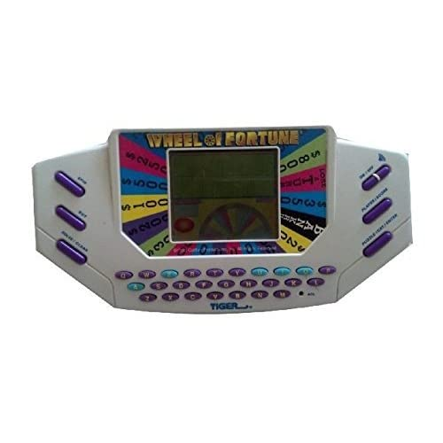Wheel Of Fortune Handheld By Tiger Electronics White DFJ047