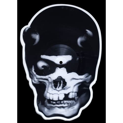 Image 0 of Skull Shaped Picture Disc On Vinyl Record By Balzac