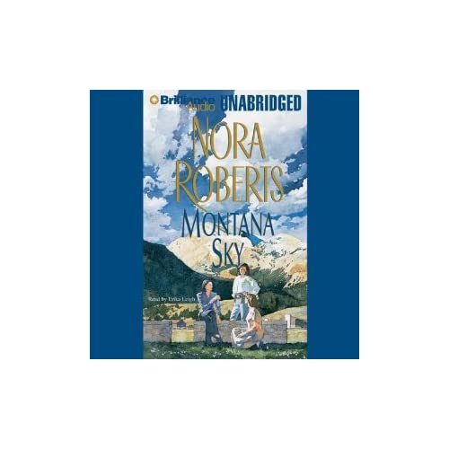 Image 0 of Montana Sky By Nora Roberts And Erika Leigh Reader On Audio Cassette